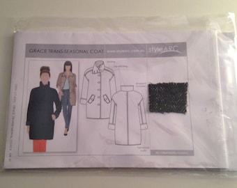 Style Arc Grace Women's Coat Pattern size 8
