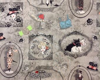 SPX Fabrics. Frou Frou #23814.