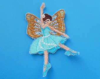 Lace Applique for Crafts or Crazy Quilt - Dancing Fairy 10