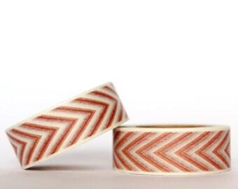 Pink Herringbone Washi Tape
