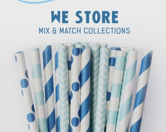 25 PAPER STRAW with free printable DIY Toppers - My Little Sky
