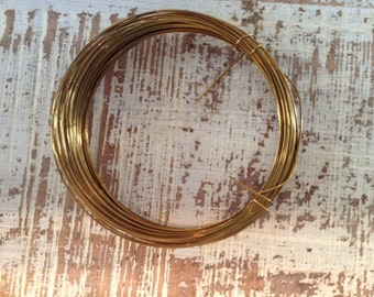 Gold Plated Copper Wire
