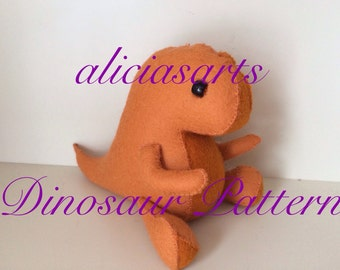 Dinosaur Plush Pattern