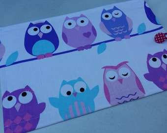 Purple Owl Rollable Chalkboard Mat Play Based Learning