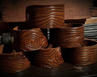 Wood Grain Cuff