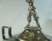 Antique Sterling Silver Golf Trophy 1929