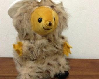 Vintage Plush Tiggy-Winkle Peter Rabbit / Beatrix Potter Stuffed Animal by Eden