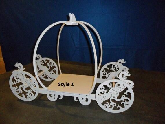 Princess Carriage Cake Stand