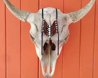 Buffalo Breastplate Fringe Necklace
