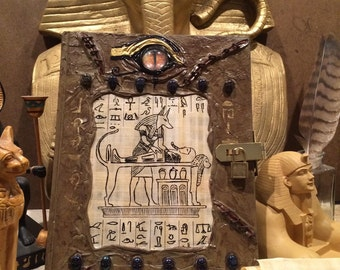 Custom Egyptian Book of the Dead Sketchbook