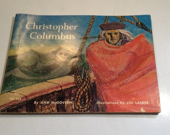 Vintage 1968 5th printing Christopher Columbus by and McGovern