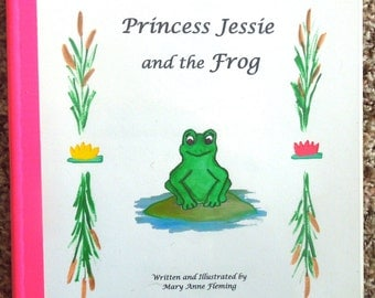 "Personalized / Photo Princess Storybook  ---- ""The Princess and the Frog"""