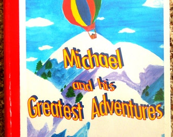 "Personalized / Photo Storybook ---- ""The Greatest Adventures"""