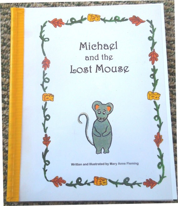 "Personalized / Photo Storybook ----- ""The Lost Mouse"""