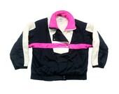 Bold 90s Neon Fera Sport Puffy Ski Jacket - S / M (12)