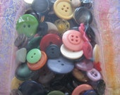 Button Soup Random Assortment of 3.5 oz. of Buttons in Sizes, Shapes and Colors