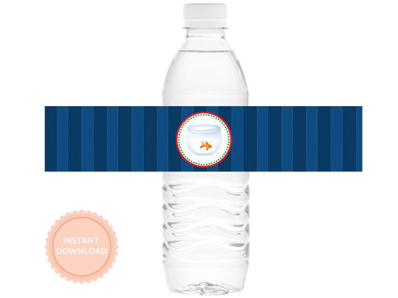 INSTANT DOWNLOAD - SESAME Street Inspired Birthday, Water Bottle Wraps, Printable