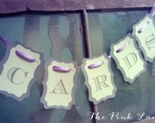 Cards Mini Bunting Banner - In Your Custom Colors