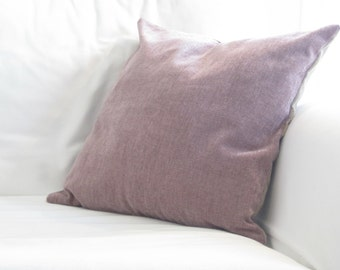 High Quality Decorative Pillows, Velvet Pillows, Purple Pillow Covers, 14 In Pillows,  Purple Toss