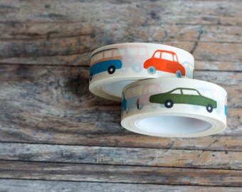 Japanese Washi Tape - Masking Tape Roll in Kids Toy Car