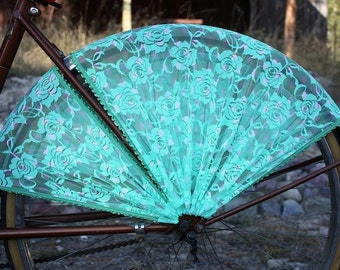 Bike Skirt Guard, 'Mint/Seafoam'. Bicycle, bicycle accessories, cruiser accessories