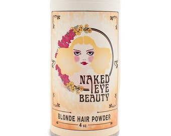Organic Blonde Natural Hair Powder Dry Shampoo 4 oz.