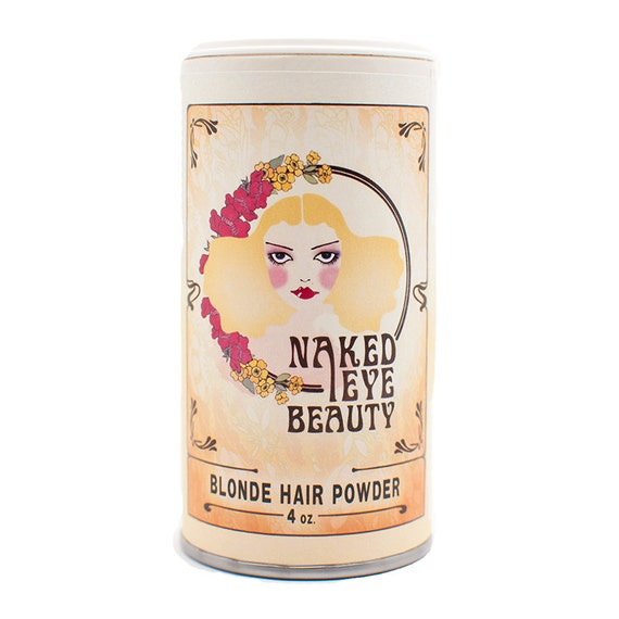 Organic Blonde Natural Hair Powder Dry Shampoo 4 oz.