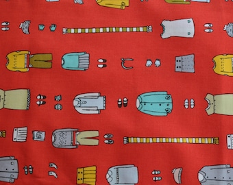 Moda by Aneela Hoey in the Little Apples Collection - Novelty Outfits in Lollipop  Half Yard 100% Cotton Fabric