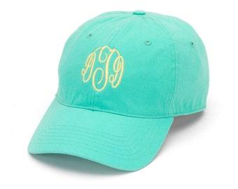 Monogrammed Ball Cap - Most Colors - Custom Monogrammed Hat