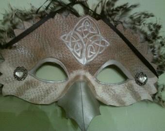 Spirit Animal Leather Mask - Avenger
