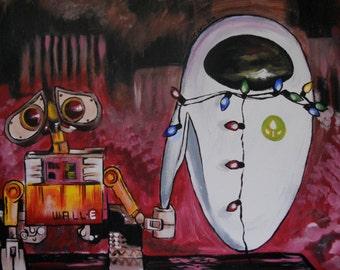 WALL-E and Eve