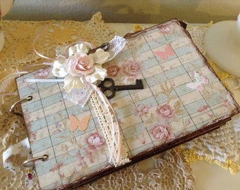 Wedding Bridal Guest Book Journal Keepsake Junk Journal