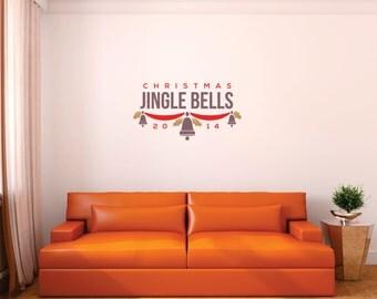 Christmas Jingle Bells Wall Decal
