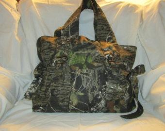 Camoflague Material Cloth Bag