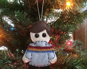TNG Star Trek Large Wesley Crusher Felt Ornament