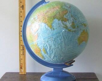 Vintage Repploge World Ocean Series 12 Inch diameter Globe