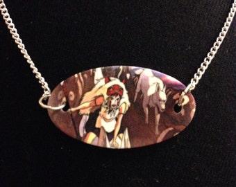 SALE Princess Mononoke Necklace Studio Ghibli