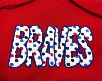 Braves hoodie sweatshirt