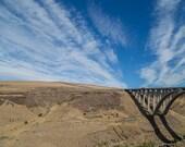 Beauty of Washington State - 8x10 Fine Art Photography Print - Bridge near Yakima Valley