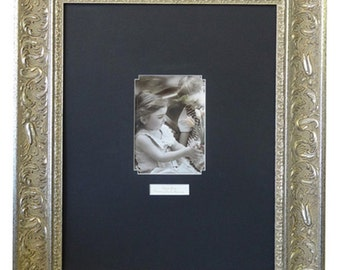 "Wedding Signature Frame Silver #6702 / Black Or White Mat / 16""x 20"" OR 20""x 24"" / Vertical OR Horizontal"