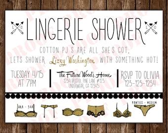 Lingerie Shower Invitation 20ct.