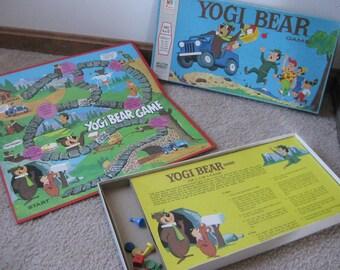 Vintage Yogi Bear Board Game