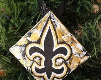 New Orleans Saints Fleur de Lis Ornament