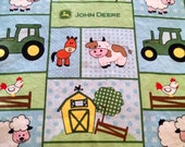 John Deere Baby/Toddler  Fitted Sheet with standard Pillowcase
