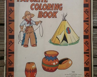 Coloring Book from the 1920s