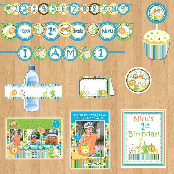 sweet safari package boy birthday package 1st birthday