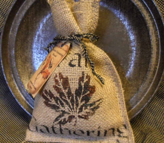 Fall Scented Corn Cobb Sacks ~ Maple Leaf