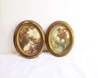 Vintage  Italian Italy Wall Frames Victorian Mid Century Regency Wall Decor Made in Italy