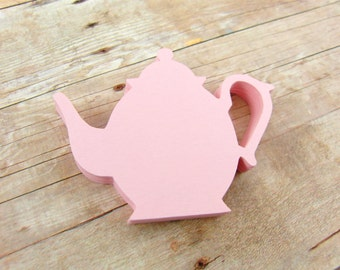 Tea Pot Paper Cut Outs set of 25