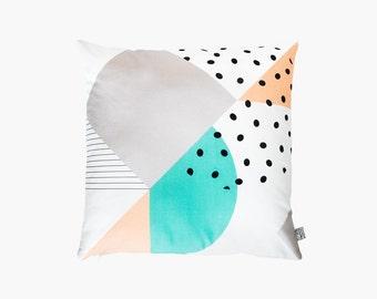shapes & dots pillow #1